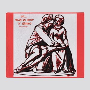 Lovers Game Throw Blanket