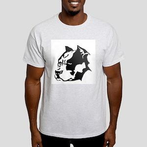 pit bull head design #2 Light T-Shirt