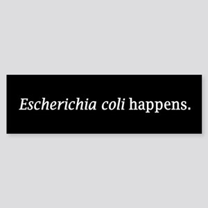 E. coli Bumper Sticker