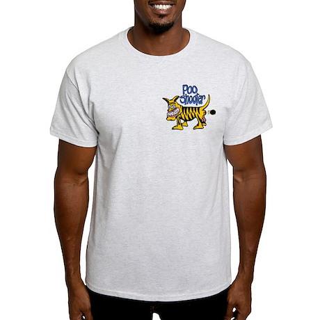 Poo Shooter Ash Grey T-Shirt