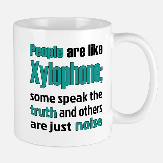 People are like Xylophone Mug