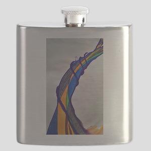 Bent Not Broken Flask