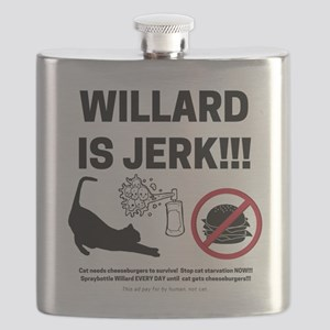 WILLARD IS JERK Flask