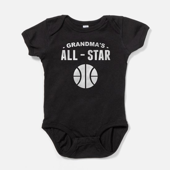 Grandma's All-Star Basketball Baby Bodysuit