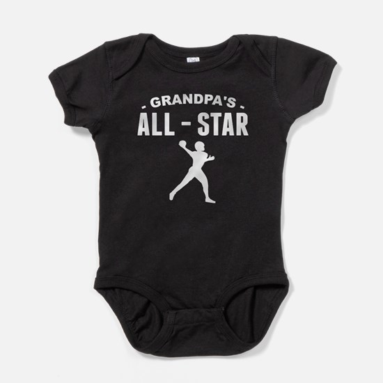 Grandpa's All-Star Football Baby Bodysuit