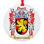 Mattschas Round Ornament
