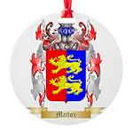 Mattox Round Ornament