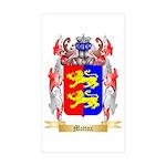 Mattox Sticker (Rectangle 50 pk)