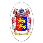 Mattox Sticker (Oval)