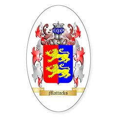 Mattocks Sticker (Oval)