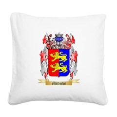 Mattocks Square Canvas Pillow