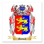 Mattock Square Car Magnet 3