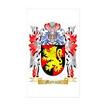 Mattiuzzi Sticker (Rectangle 50 pk)