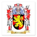 Mattiussi Square Car Magnet 3