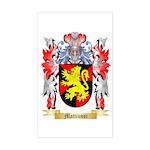 Mattiussi Sticker (Rectangle)
