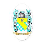 Mattingley Oval Car Magnet