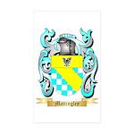 Mattingley Sticker (Rectangle 50 pk)