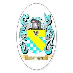 Mattingley Sticker (Oval)