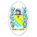 Mattingley Sticker (Oval 50 pk)