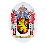 Mattiassi Oval Ornament