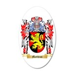 Matthius 20x12 Oval Wall Decal