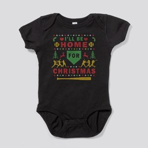 I'll be Home Fastpitch Softball Ugly Baby Bodysuit