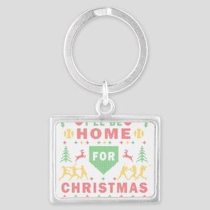 I'll be Home Fastpitch Softball Ugly Christmas Key