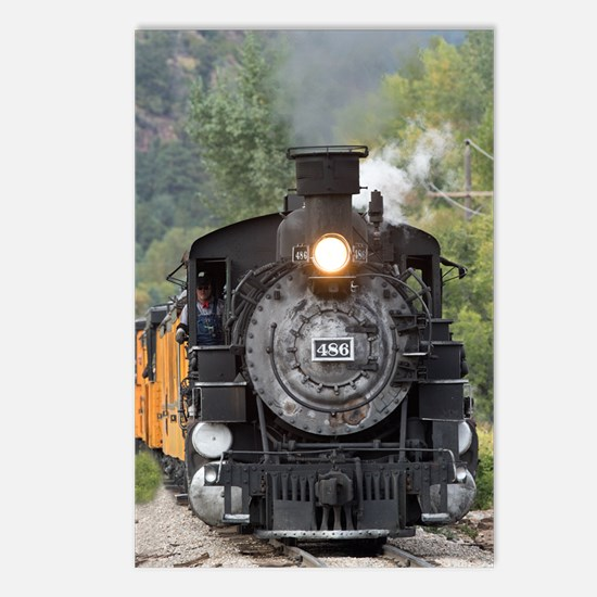 Cute Steam engine Postcards (Package of 8)