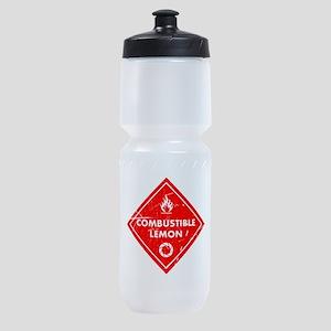 Combustible lemon - Portal 2 Sports Bottle