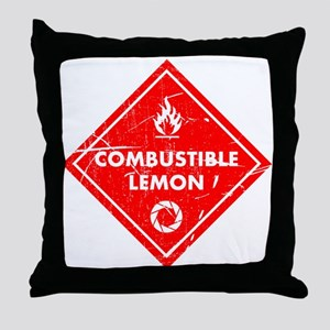 Combustible lemon - Portal 2 Throw Pillow