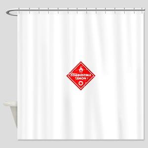Combustible lemon - Portal 2 Shower Curtain