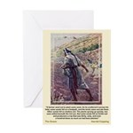 The Sower-Copping-Greeting Card
