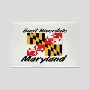 East Riverdale Maryland Rectangle Magnet