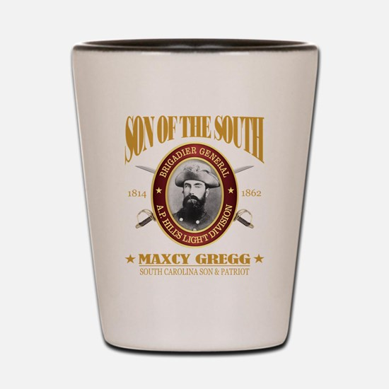 General Maxcy Gregg Shot Glass