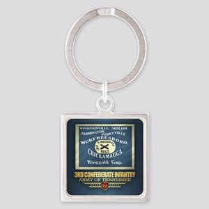 3rd Confederate Infantry Keychains