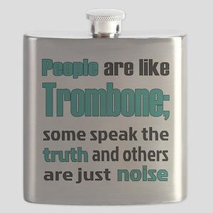 People are like Trombone Flask