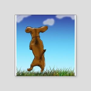 Happy Dachshund Sticker