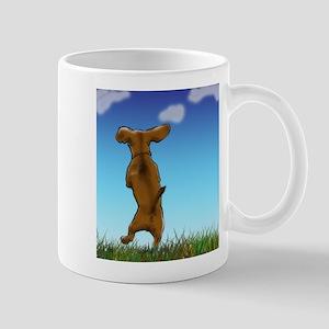 Happy Dachshund Mugs
