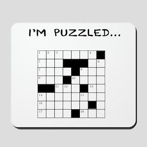 I'm puzzled Mousepad
