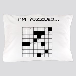 I'm puzzled Pillow Case