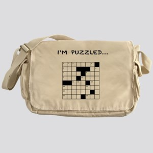 I'm puzzled Messenger Bag