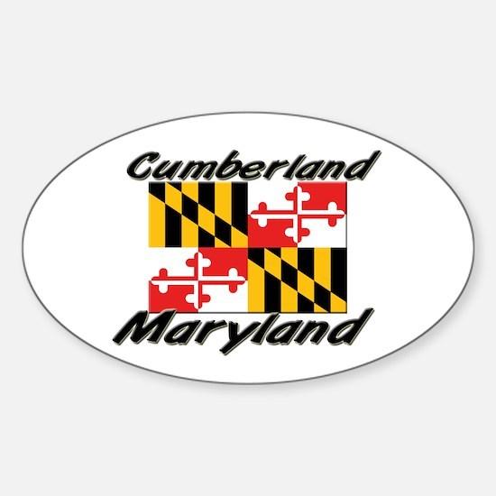 Cumberland Maryland Oval Decal