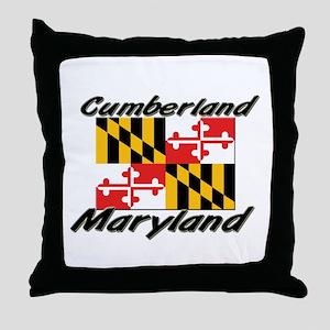 Cumberland Maryland Throw Pillow