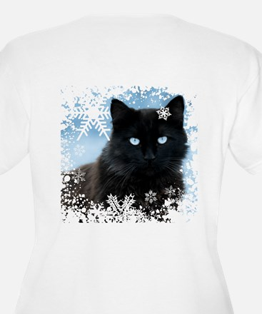 BLACK CAT & SNOWF T-Shirt