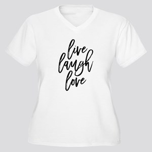 Live Laugh Love Plus Size T-Shirt