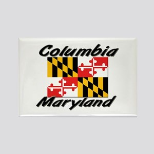 Columbia Maryland Rectangle Magnet