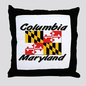 Columbia Maryland Throw Pillow