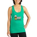 beer Racerback Tank Top