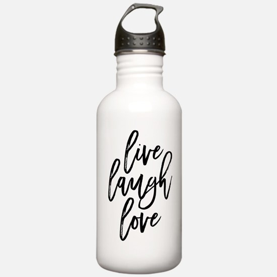 Live Laugh Love Water Bottle
