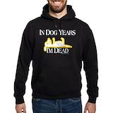 Dog years Dark Hoodies